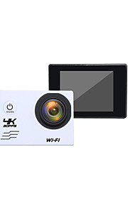 V60 Sportskamera/GoPro Style-kamera 2 12MP / 8MP / 5MP / 16MP 1920 x 1080 60fps / 30fps 4X +1 / -1 / 2 / 0 / -2 CMOS 32 GB H.264Engelsk /