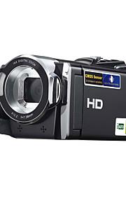 videocamera DV HDV-614P 3 milioni CMOS pixel 2.7 pollici 270 ° rotazione del display tft zoom 16x Supporto SD Card