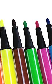 24 värit akvarelli kynä lapsille (yli 3 vuotta vanha)