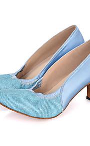Sapatos de Dança(Azul / Rosa / Roxo) -Feminino-Personalizável-Dança do Ventre / Latina / Jazz / Moderna / Samba / Sapatos de Swing
