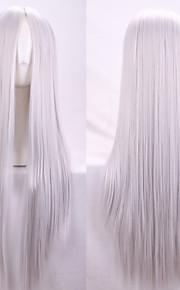 Euroopassa ja Yhdysvalloissa uusi hopea ms pistettä pitkät suorat hiukset peruukit