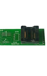 mini aapter met aansluiting voor sop-8, SSOP-8, sop-16 te dompelen-16 EEPROM bord met socket
