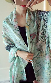 Damen Vintage / Niedlich / Freizeit Seide Schal