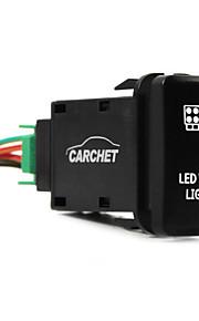 toyota drukschakelaar met connector wire kit laser geleid werklampen symbool wit