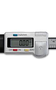 """1.14 """"LCD-scherm digitale bandprofieldiepte diep graadmeter voor remschoen blokslijtage"""