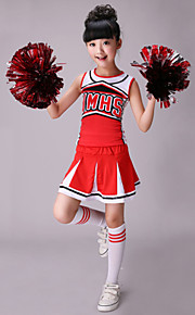 Cheerleader Costumes Children's Western Style Performance Cotton / Spandex Outfits
