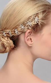 Epingle à Cheveux Casque Mariage / Occasion spéciale / Casual / Bureau & Carrière / Outdoor Cristal FemmeMariage / Occasion spéciale /