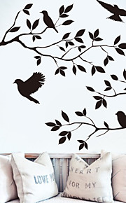 Studio Burnish Birds & Blossoms Vinyl Wall Decal