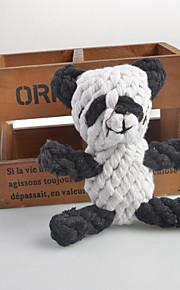 Koirat Lelut Purulelut Panda Textile Valkoinen