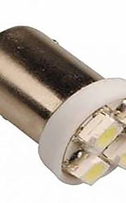 2 stuks 12v 2w amberkleur geleid geleid zijmarkeringslamp, BA9S LED leeslamp, kentekenplaatverlichting