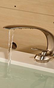 Mittellage Einhand Ein Loch in Bronze Waschbecken Wasserhahn