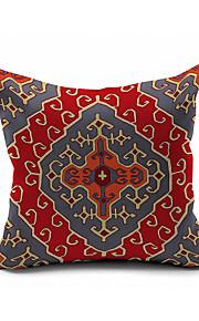 2016 New Arrival Ethnic Cotton/Linen Pillow Cover , Nature Modern/Contemporary Pillow Linen Cushion