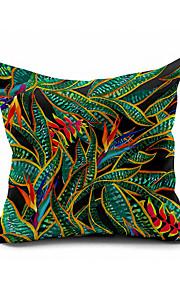 Watercolor Art Cotton/Linen Pillow Cover , Nature Modern/Contemporary Pillow Linen Cushion