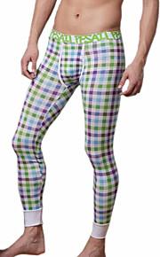 men long johns men's bodysuit pants mens print  tight leggings pants N500114