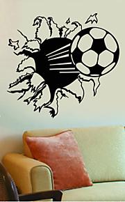 Forme / Sports / 3D Stickers muraux Stickers muraux 3D,vinyl 57*71cm