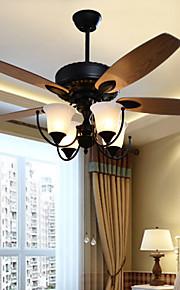 MAX60W Ventilateur de plafond ,  Vintage Autres Fonctionnalité for Designers MétalSalle de séjour / Chambre à coucher / Salle à manger /