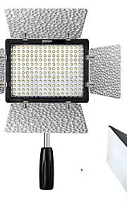 yongnuo® pro yn-160 iii video studiofotografie licht lamp verstelbare kleur 3200K-5500K voor canon nikon sony
