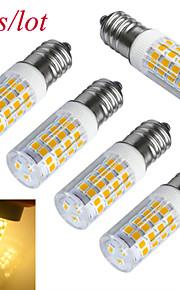 3W E14 Ampoules Maïs LED T 51 SMD 2835 240-300 lm Blanc Chaud / Blanc Froid Décorative AC 100-240 V 5 pièces