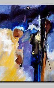 pils met de hand geschilderd moderne abstracte olieverf op doek voor de woonkamer home decor kunst aan de muur foto whit omlijsting