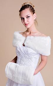 Wedding / Party/Evening Faux Fur Boleros Mouwloos Damesomslag