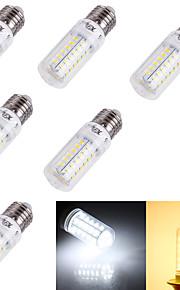 Ampoules Maïs LED Décorative Blanc Chaud / Blanc Froid YouOKLight® 6 pièces T E14 / E26/E27 4W 56 SMD 5730 240 lm AC 100-240 / AC 110-130