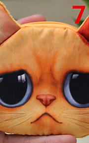 3D Cat Cartoon Purse Coin Bag Cosmetic Storage Bag Wallet Mobile Phone Bag Key Holders