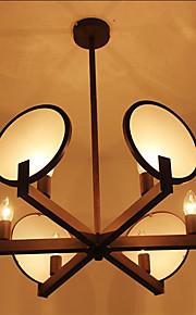 40W Vintage Ministil Andere Holz/Bambus PendelleuchtenWohnzimmer / Schlafzimmer / Esszimmer / Studierzimmer/Büro / Kinderzimmer /
