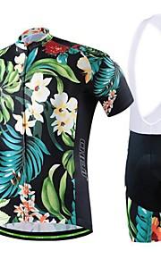 miesten kesän ammatillisen pyöräily musta paita polkupyörä hengittävä kuivuu nopeasti jersey + pyörä 3d tyyny pad Bib shortsit puku