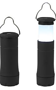 LED taskulamput LED 1 Tila 401-999 Lumenia Vedenkestävä Muut Muu Telttailu/Retkely/Luolailu / Pyöräily / Monikäyttö-Muut,Musta Muovi