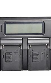yongnuo® dobbelt digital batterioplader til F970 f960 F550 F770 FM50