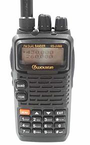 WOUXUN KG-UV899 220MHz Walkie-talkie 5W 1300mAh 400-520MHz 1300mAh 3-5 kmFM-radio / Nødalarm / Programmerbar med PC software /