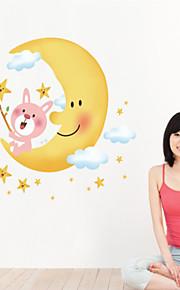 Tegneserie / Romantik / Mote Wall Stickers Fly vægklistermærker,PVC 60*90cm(23.6*35.4 inch)