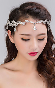 Women's / Flower Girl's Rhinestone / Alloy Headpiece-Wedding / Special Occasion Head Chain 1 Piece