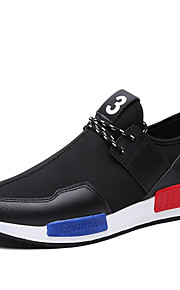 Men's Shoes Outdoor/Office & Career/Party & Evening/Athletic/Dress/Casual Tulle Fashion Sneakers Black/Blue/Red