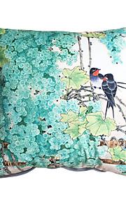 New Design Print Grape Birds Decorative Throw Pillow Case Cushion Cover for Sofa Home Decor Soft Material