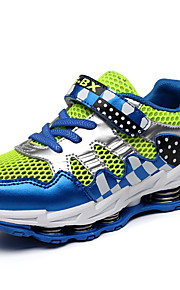 Spring Mesh Boys' Shoes Outdoor / Casual Tulle Sneakers / Fall Comfort / Round Toe Magic Tape / Split Joint Blue