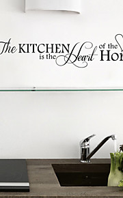 Wall Stickers Wall Decals Style Love Kitchen PVC Wall Stickers