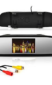 """4.3 """"auto achteruitkijkspiegel LCD-monitor + 170 ° groothoek achteruit inparkeren camera"""