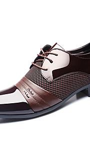Chaussures Hommes Mariage / Bureau & Travail / Soirée & Evénement Noir / Marron Cuir Richelieu
