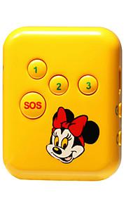 gps locator persoonlijk alarm gps dual-mode positionering bijhouden kind ouderen veiligheid