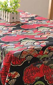 Japanse stijl tafelkleed mode hotsale hoogwaardige katoen vierkante salontafel hoes van textiel handdoek
