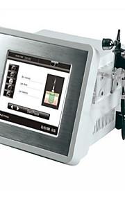 4in1 diamant microdermabrasion skjønnhet maskin med oksygen behandling microcurrent&foton