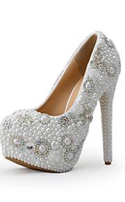 Chaussures de mariage-Blanc-Mariage / Habillé / Soirée & Evénement-Talons-Talons-Homme