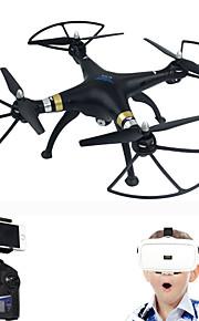 HZX T70VR трутень 6 оси 10.2 см 2.4G RC QuadcopterВозврат одной кнопкой / Авто-Взлет / Прямое управление / Полет с возможностью вращения
