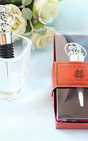 Bouchons de bouteille Bouteille Favor Thème asiatique / Thème classique / Thème de conte de fées Non personnalisé Etain Rouge 1Pièce/Set