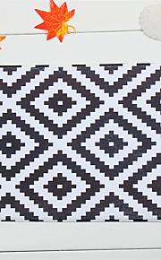 """hot salg ny designet koral fleece materiale skridsikker rektangel mat W16 """"x L24"""""""