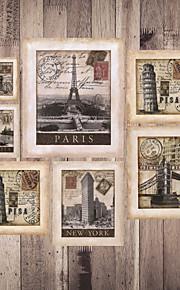 Mural Décoration artistique Papier peint Rétro Revêtement,Toile Oui