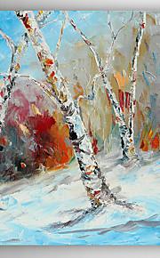 Peint à la main Paysage Modern,Un Panneau Peinture à l'huile Hang-peint