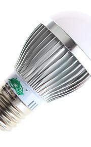 3W GU10 / E26/E27 Ampoules Globe LED A60(A19) 6 SMD 5730 280lumens lm Blanc Chaud / Blanc Naturel Décorative AC 85-265 V 1 pièce