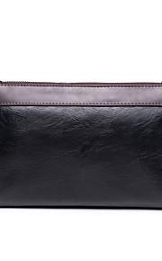 L.WEST Men's The Simple Color Matching Handbags/Clutch